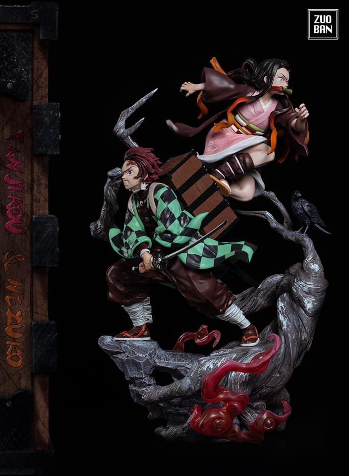 [Pre-Order] Tanjiro & Nezuko  By Zuoban Studio