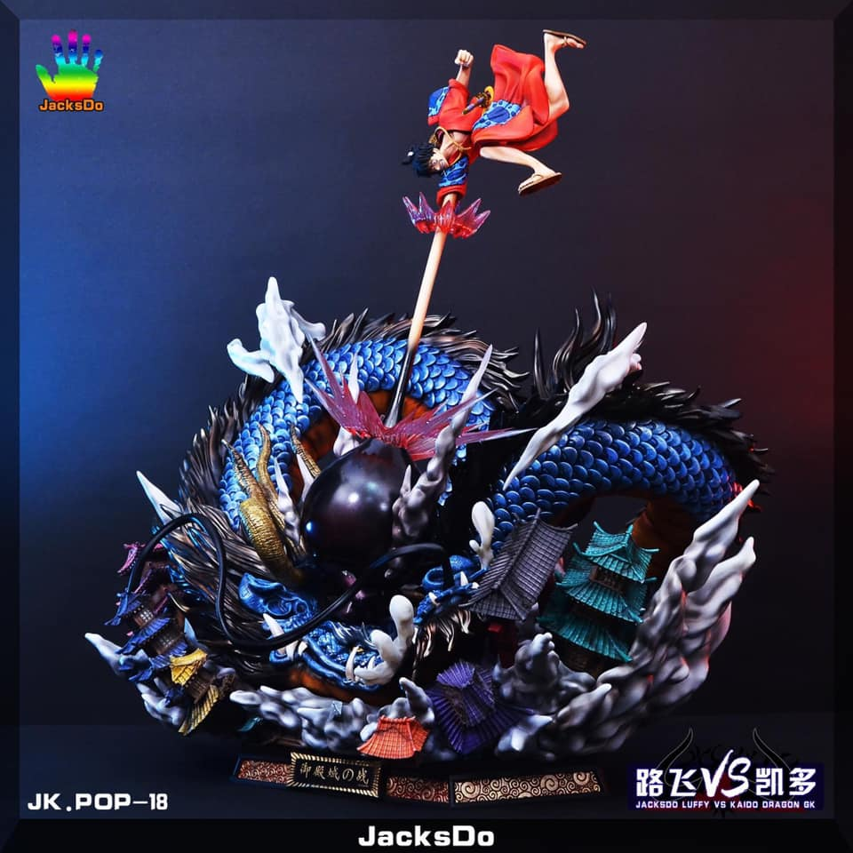 [Pre-Order]Luffy vs KaidoBy Jacksdo Studio